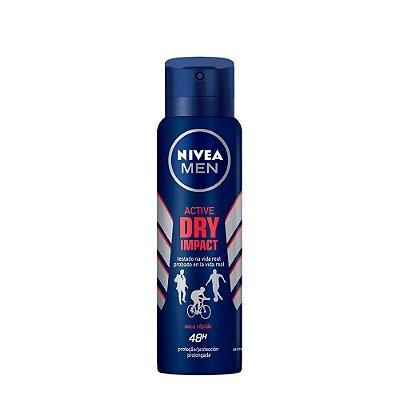 Nivea Desodorante Aerosol Men Dry Impact 150ml