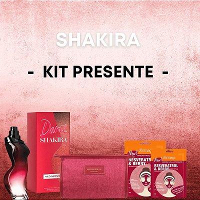 Shakira Dance Red Midnight Kit Presente Feminino