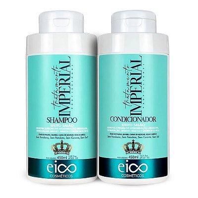 Eico Kit Shampoo + Condicionador Tratamento Imperial 450ml