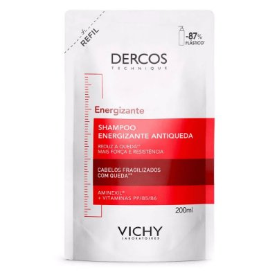 Vichy Dercos Energizante Shampoo Refil 200ml