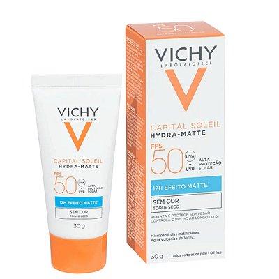 Vichy Capital Soleil Hydra-Matte Sem Cor FPS 50 30ml