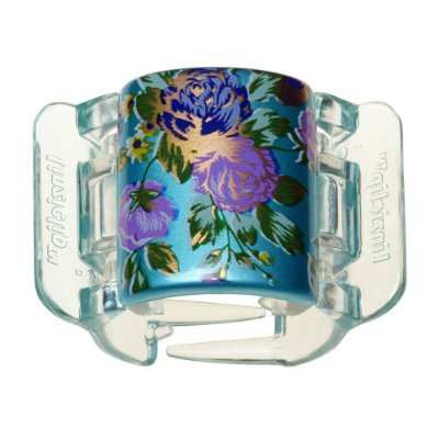 Linziclip Bloom Flower Presilha Linzi Clip Blue 9x4cm