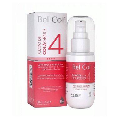 Bel Col Fluido de Colageno 4 Hidratante antiage para peles ressecadas 30ml