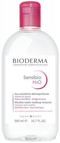 Bioderma Sensibio H2O Solução Micelar 500ml