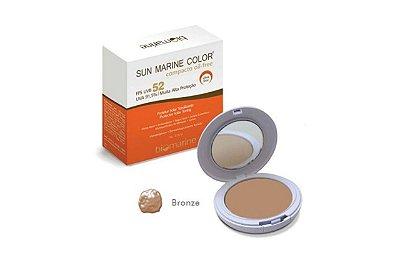 Biomarine Sun Marine Color Compacto FPS52 Bronze 12g