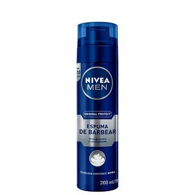 Nivea Espuma de Barbear Original Protect 200ml