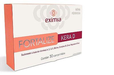 Farmoquímica Eximia Fortalize Kera D 30cpr