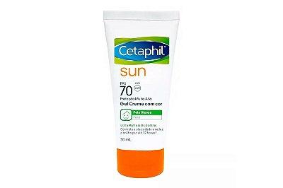 Galderma Cetaphil Sun FPS70 com Cor  Pele Oleosa 50ml