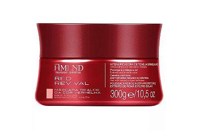 Amend Mascara Realce da Cor Red Revival 300g