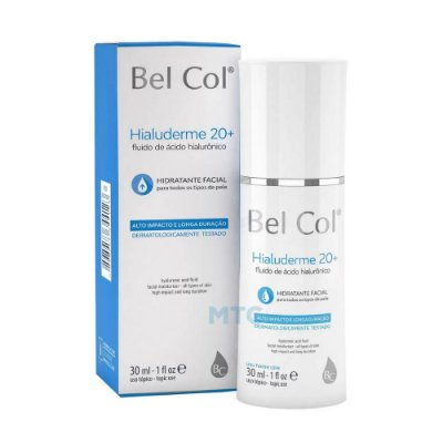 Bel Col Hialuderme Fluido De Acido Hialurônico 30ml
