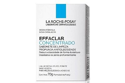 La Roche-Posay Effaclar Concentrado Sabonete Pele Oleosa e Acneica 70g