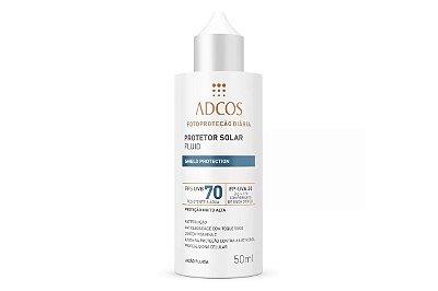 Adcos Fotoproteção Filtro Solar Fluid  Fps70 Incolor 50ml