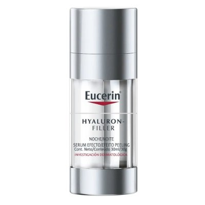 Eucerin Hyaluron Filler Noite Serum Efeito Peeling 30ml