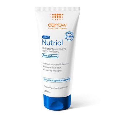 Darrow Loção Hidratante Nutriol Sem Perfume 200ml