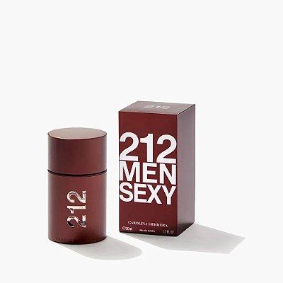 Carolina Herrera 212 Sexy Men Perfume Masculino Eau de Toilette 50ml