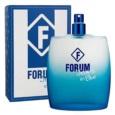 Forum Jeans In Blue Perfume Unissex Eau de Cologne 100ml