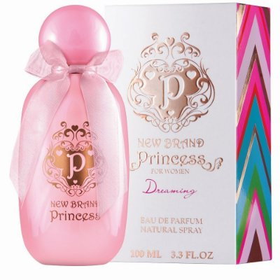 New Brand Prestige Princess Dreaming Perfume Feminino Eau de Parfum 100ml