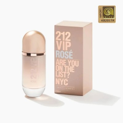 Carolina Herrera 212 Vip Rose Perfume Feminino Eau de Parfum 80ml