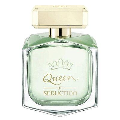 Antonio Banderas Queen Of Seduction Perfume Feminino Eau de Toilette 80ml