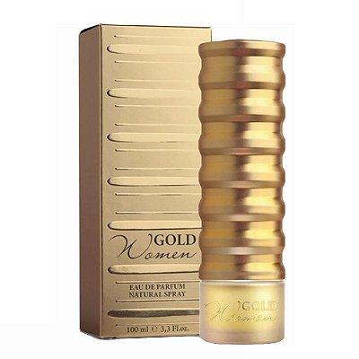 New Brand Prestige Gold For Perfume Feminino Eau de Parfum 100ml