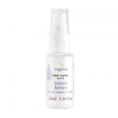 Vegana Elixir Raizes Fortes Alecrim 25ml
