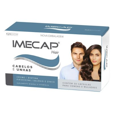Imecap Tratamento Capilar Hair 30 Cápsulas