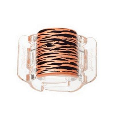 Linziclip Tiger Pearlised Orange Peel
