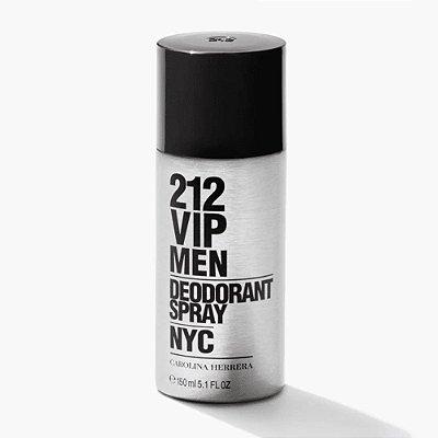 Carolina Herrera 212 Vip Desodorante Masculino 150ml