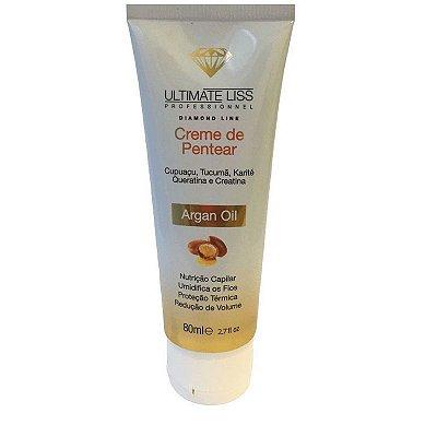 Ultimate Liss Argan Oil Creme de Pentear 80ml