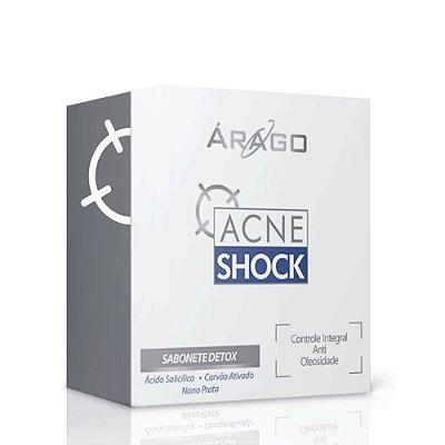 Árago AcneShock Sabonete Detox em Barra 90g