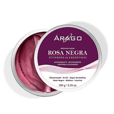 Árago Máscara Facial Rosa Negra 150g