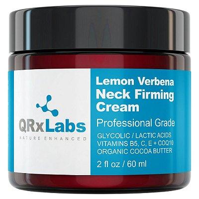 QRxLabs Lemon Verbena Neck Firming Cream 60ml