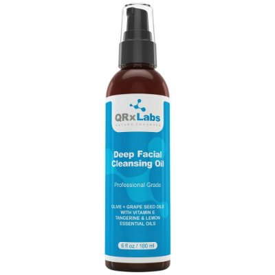 QRxLabs Deep Facial Cleansing Oil Limpeza Facial 180ml