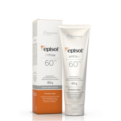 Mantecorp Episol Antiox  Protetor Solar FPS 60 60g