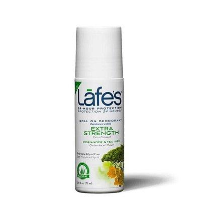 Lafes Desodorante Roll-On Extra Strength Coriander e Tea Tree 73ml