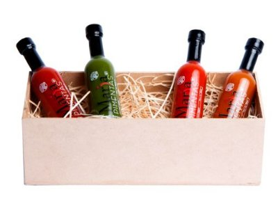 Box de Molho de Pimentas Gourmet Premium P