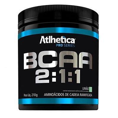 BCAA 2:1:1 Atlhetica 210g - Limão