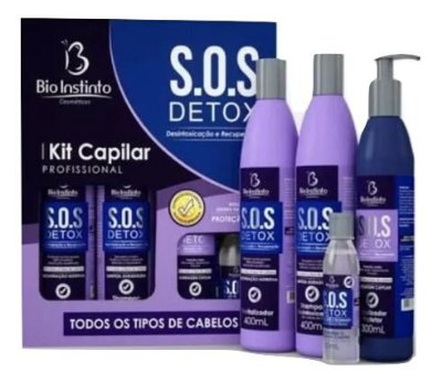 Kit Capilar Profissional SOS Detox