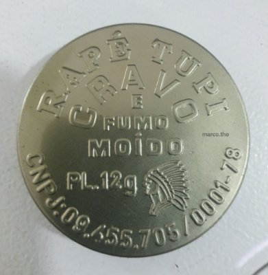 Rapé Tupi - Cravo e Fumo Moído - 5 gramas