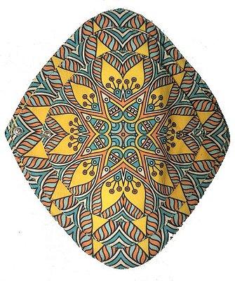 Ecoabsorvente Mandalas Amarelo