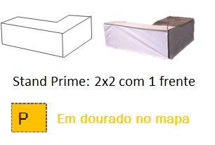 Stand Prime 2x2 com 1 frente