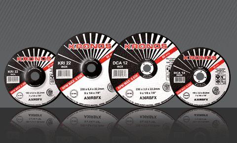 DISCO DE DESBASTE KRONOS 4X1/2X1/4 X7/8 KR1 22 INOX  1 Peça