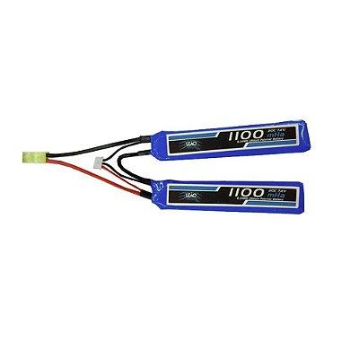 Bateria LiPo 2s 7.4v 20C 1100mAh