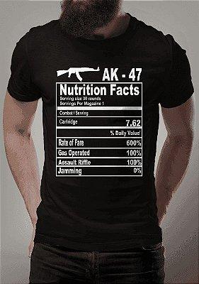 Camiseta Tabela AK47