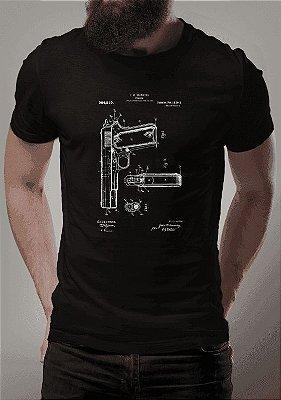 Camisa Patente Colt 1911 Preta