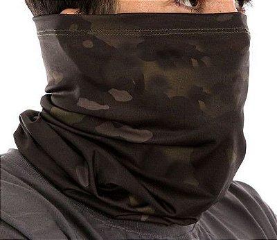 Balaclava Tube Multicam Black - Proteção UV