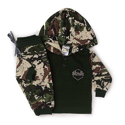 Conjunto Blusão e Calça Militar - Fantoni