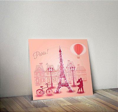 Plaquinha Decorativa - Paris