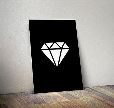 Plaquinha Decorativa - Diamante