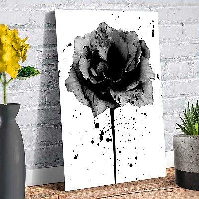 Plaquinha Decorativa - Flor